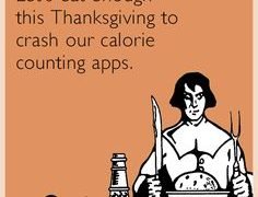 Happy Thanksgiving: How to cut 1000 calories from your Thanksgiving Meal!