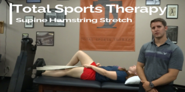 Top Exercise for Back Pain: Supine Hamstring Stretch