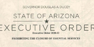 Governor Ducey Executive Order